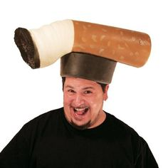 Silly Gag Gifts for Smokers Dont Be a Butt Head Foam Costume Novelty Hat ** Check this awesome product by going to the link at the image. Funny Halloween Costumes Women, Halloween Hats, Funny Costumes, Halloween Outfits, Adult Costumes, White Elephant Christmas, White Elephant Gifts, Unique Costumes, Creative Costumes