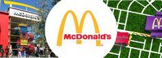 Next to Hotel Portofino Bogota is McDonalds.