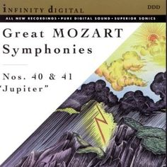 """Great Mozart Symphonies: Nos. 40 & 41 """"Jupiter"""" (Audio CD)  http://www.add-cool-themes.info/product.php?p=B00000298W  B00000298W"""