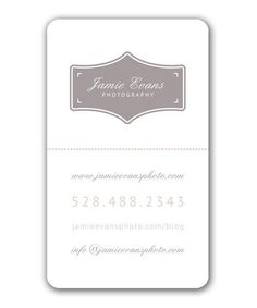 Daydreaming Business Card  |  template designed by @Bittersweet Design Boutique