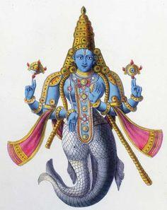 HiNDU GOD: Lord Matsya avatar