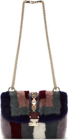 Valentino Blue Mink Shoulder Bag on shopstyle.com