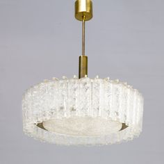 For sale: 1st edition chandelier by Doria Leuchten, 1960s