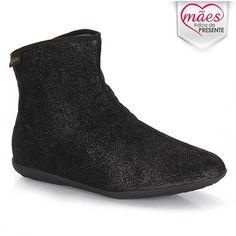 Deve ser uma delícia andar com ele ... :)  (34) ---  Ankle Boots Feminina Piccadilly 246001 - Preto