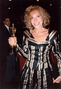 """Carly Simon in 1989 for Best Original Song-""""Let the River Run"""""""