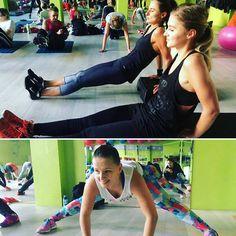Na prezent trzeba sobie zasłużyć 😉 Ale te dziewczyny zapewne dziś odwiedzi Mikołaj 🎅  Nie odpuszczamy,trenujemy - bo ten z Pan z brodą patrzy😅  #event #mikołajki  #motivation #2016 #fitness #gym #sport #gymlife #gympeople #fit #gymfreak #forma #fitstagram #training #girlspower #follow4follow #like #follow #fitfam #perfectbody #body #gymwear #fitgirls #goodclothes #women #bodybulding #shape #girlbody #trainhard #nevergiveup