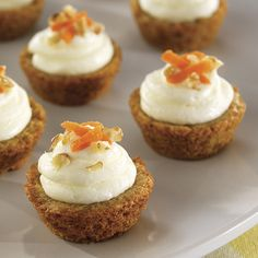 Mini Carrot Cake Cups - The Pampered Chef®