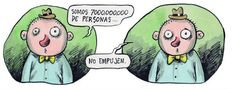 Liniers – Somos 7000.000.000 de personas… No empujen.
