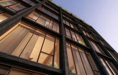 Facade detail, 475 West 18th, New York, NY, 2015. When complete, the 10-story residential building known as 475 West 18th will be the first structural timber building in New York City. The design by SHoP Architects was one of two competition winners of the U.S. Tall Wood Building Prize, sponsored by the U.S. Department of Agriculture. (Courtesy SHoP Architects PC)