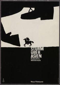 Sturm Über Asien, Pudowkins Meisterwerk, Neue Filmkunst 1964  Hans Hillmann