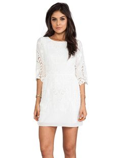 Dolce Vita Nella Dress en Blanc   REVOLVE