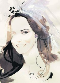 ♕ Her Royal Highness The Duchess of Cambridge by David Downton