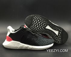 newest 7befd 95cd0 WomenMen Outlet For Sale Adidas EQT Support 9317 Black Turbo Red  SKU306173-246