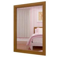 Espelho verticall / Linha Lavander-Carvalho - Escovado