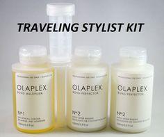 BN Olaplex Traveling Stylist Kit 4 All Hair Types 15 Appl, Step 1 & 2 FAST SHIP #Olaplex