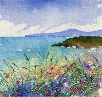 Anne Kinniment nice tutorial on her site on watercolour and machine embroidery Art Textile, Textile Artists, Embroidery Art, Machine Embroidery, Landscape Art Quilts, Landscapes, Felt Pictures, Thread Painting, Felt Art