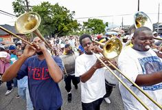 Can't stop the NOLA    Neither hurricanes nor floods nor youthful gun-toting hoodlums will stay the people of New Orleans from doing what they do...and what they do, more than any other US city, is celebrate life.