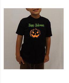 Halloween kids shirt halloween shirt  Happy by DJammarKids on Etsy, $14.99