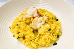 Treat yourself to a luxurious and creamy risotto with rock lobster and zucchini at your next celebration. This recipe is made using the traditional method for preparing risotto and contains Rock lobster stock for enhanced lobster flavour that is sure to impress. Rock Lobster, Lobster Meat, Lobster Risotto, Deep Frying Pan, Italian Pasta Recipes, Pasta Dishes, Food Food, Cooking Tips