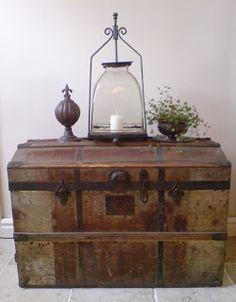 MI BAUL VINTAGE & CHIC. Ideas para decorar.: DECORANDO CON BAULES...