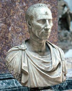 Bust of Julius Caesar, Capitoline Museum.