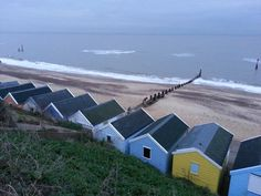 Southwold beach in November -still beautiful. Suffolk, England.
