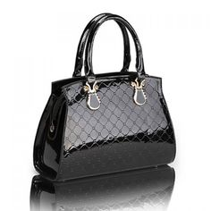Elegant Solid Color Checked Design Women's Tote Bag, BLACK in Tote Bags | DressLily.com