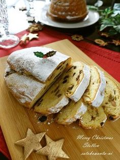 ビニール袋で混ぜる♪簡単シュトレン Homemade Sweets, Christmas Goodies, Scones, Bread Recipes, Feta, French Toast, Sandwiches, Cheese, Cooking