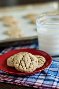 Soft and Chewy Almond Butter Cookies| http://heatherlikesfood.com