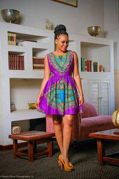 Dashiki dress dashiki fabric ankara fabric African by TrueFond