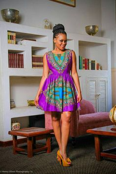 Dashiki dress dashiki fabric ankara fabric African by TrueFond