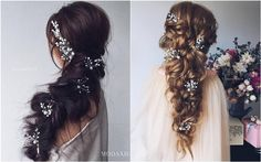 30 Long Wedding Hairstyles We Absolutely Adore | Deer Pearl Flowers - Part 2
