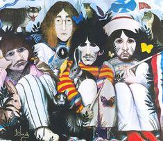 The Beatles -- ART by Klaus-Voormann