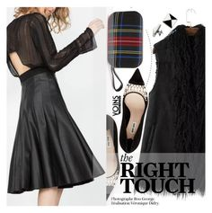 """Yoins 2:The Right Touch"" by pokadoll ❤ liked on Polyvore featuring Miu Miu, Delfina Delettrez, MustHave, fall2015 and yoins"