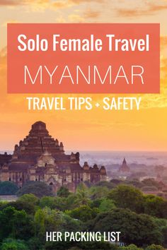 Ever wondered what it's like to travel alone in Myanmar? Donna has the answers in this interview.