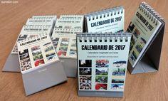 Calendarios de Corea para 2017 que regala y sortea Eurowon en Patreon