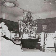 OTMAA's Christmas tree in their playroom at the Alexander Palace,Tsarskoe Selo…