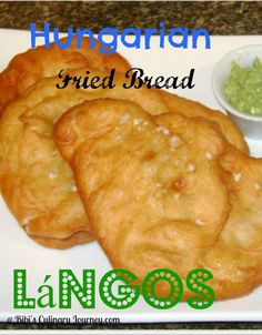 Hungarian Fried Bread Langos
