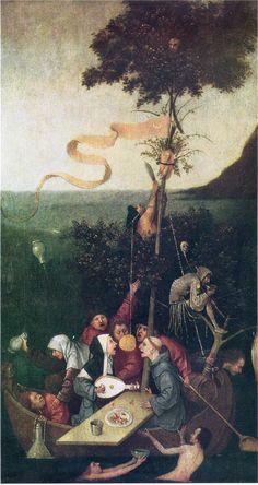 The Ship of Fools, 1490-1500Hieronymus Bosch