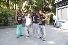 Tout les jours au pied du Brooklyn bridge ces b-boys break comme des fous !!!