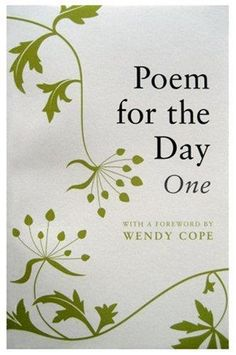 Poem for the Day: One