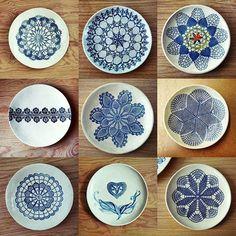 Good Morning for all! Here is design of some my ceramic plates to combine and to hang on the wall - - - #ceramicart #wallart #homedecor #ceramicplates #makersgonnamake #homestyling #lacepottery #artdeco #inspire #interiorstyling #lacepottery #ceralonata #walldecorating #inneneinrichtung #wallplates #beautiful #handpainted #decoridea #ceramicdesign #céramique #mandalas #whiteandblue #moderndecor #clayart #walldecoration #керамика #декоративныетарелки #сделанослюбовью