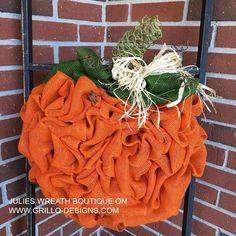 how to make a diy pumpkin wreath, crafts, how to, wreaths