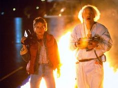 THINGS YOU NEVER NOTICED ABOUT THE OPENING OF BACK TO THE FUTURE