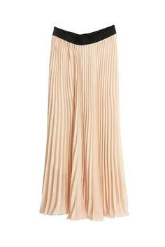 Bouffancy Design Chiffon Apricot Skirt. ROMWE