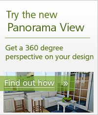 Try the new panorama view and get a 360 degree perspective on your design. A free website for designing your space.