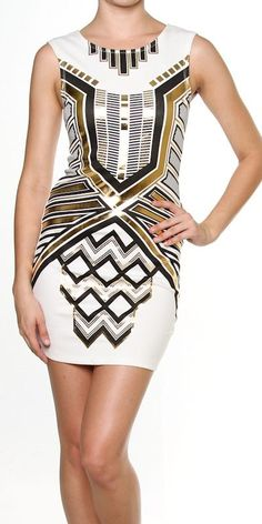 Egyptian style dress
