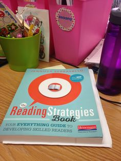 Reading Strategies Book In this post, I share different strategies from Jennifer Serravallo's new book, called The Reading Strategies Book.In this post, I share different strategies from Jennifer Serravallo's new book, called The Reading Strategies Book. The Reading Strategies Book, Reading Lessons, Reading Resources, Reading Activities, Reading Skills, Guided Reading, Reading Comprehension, Reading Goals, Writing Strategies