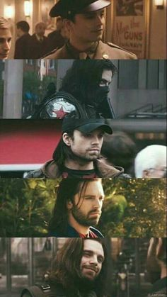 Bucky through the movies😍 Marvel Movies, Marvel Actors, Marvel Characters, Infinity War, Ms Marvel, Marvel Heroes, Marvel Avengers, Captain Marvel, White Wolf Marvel