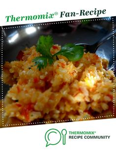 Recipe LCHF, Paleo Chilli Cauliflower Rice by man can cook, learn to make this recipe easily in your kitchen machine and discover other Thermomix recipes in Side dishes. Lchf, Keto, Recipe Community, Food N, Cauliflower Rice, Main Meals, Food Print, Side Dishes, Thermomix